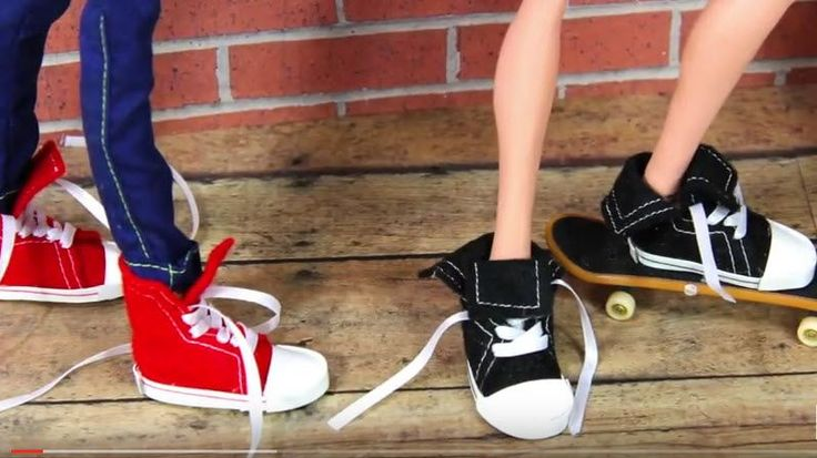 e81cd362708669 How to Make Doll Shoes Sneakers