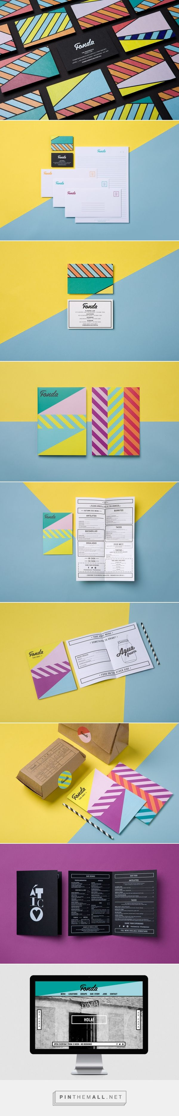 Fonda Mexican Restaurant Branding by WILDHEN DESIGN | Fivestar Branding Agency – Design and Branding Agency & Curated Inspiration Gallery