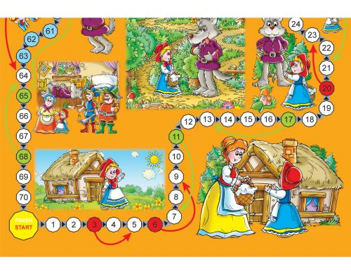 Based on the classic tale of Games Little Red Riding Hood, this exciting game takes players through fun twists and turns with