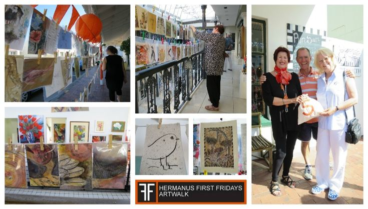 First Fridays Artwalk - Night of 1000 drawings Date: 4 December 2015 Time: 5 - 8 pm Where: Hermanus CBD. Follow the Orange lanterns Cost: Free, just get yourself there smile emoticon
