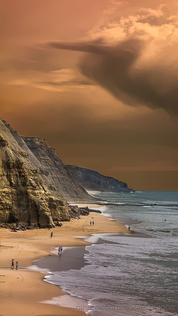 Praia de São Julião, by Raul Branco, Portugal... More beautiful pictures you can see on @FullScrGallery http://youtu.be/GbsCFpOJIMY