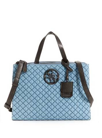 G Lux Status Satchel at Guess