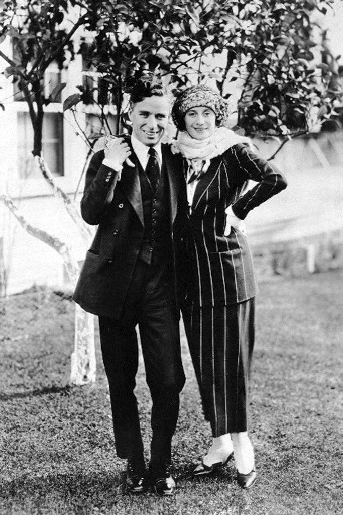 Charlie Chaplin and Anna Pavlova USA 1922