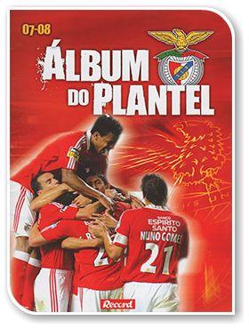 Sport Lisboa e Benfica 2007-2008, Álbum do Plantel