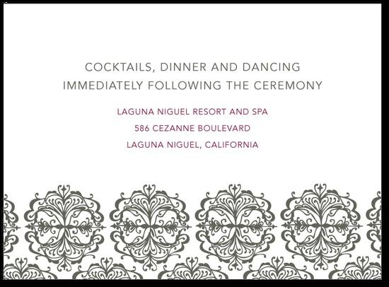 120 best wedding invitation ideas images on pinterest elegant add adult only reception semi formal attire here stopboris Gallery