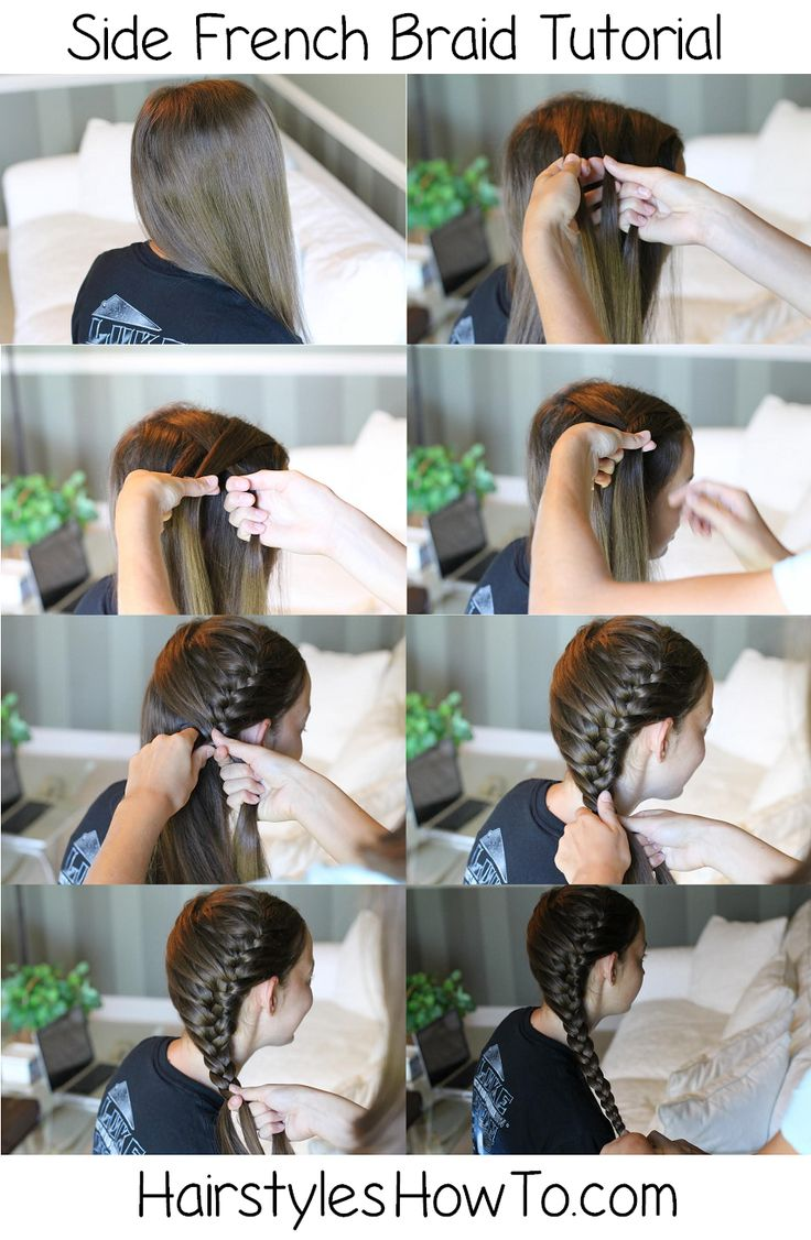 Side French Braid Tutorial - Hairstyles How To
