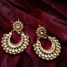 chand bali earrings gold online - Google Search