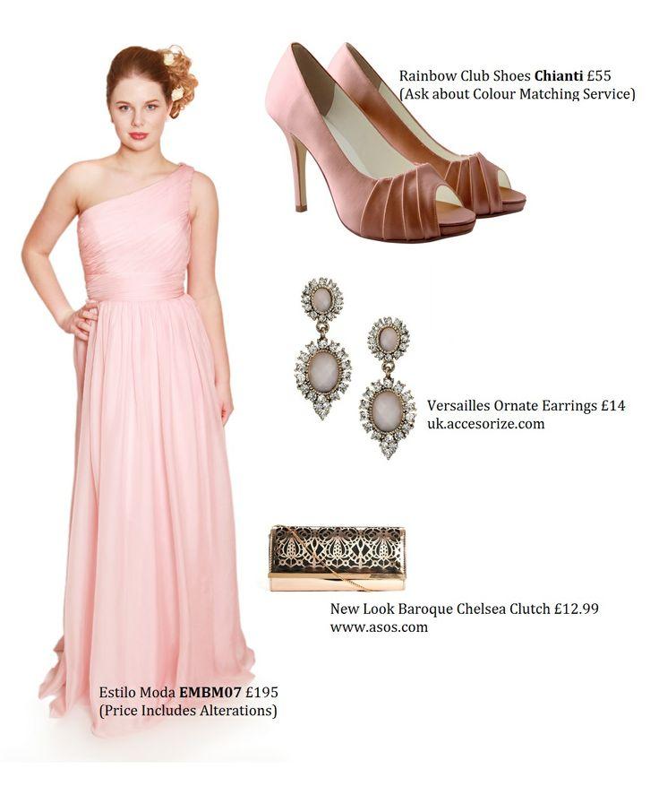 Dusky Pink Bridesmaids Dress Styling