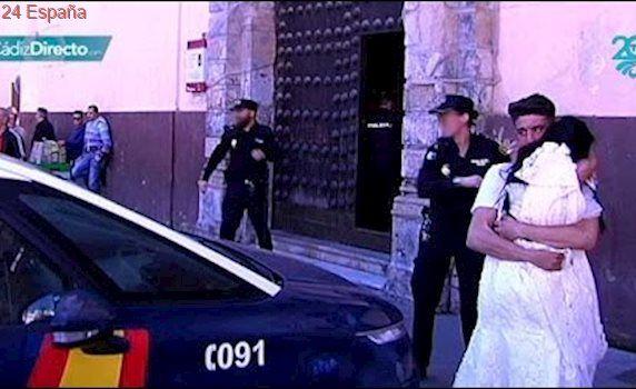 La polémica boda acaba con un detenido y una fugada de un centro de menores