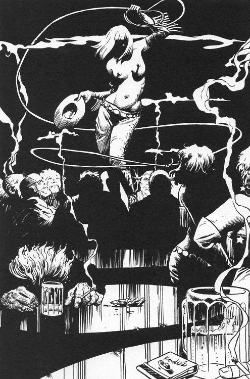 Sin City | The Big Fat Kill Gallery: Art by Paul Chadwick