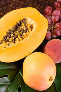 Light Mango Peach Jam - No Sugar Needed Pectin