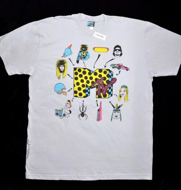 NEW! MTV Icon T-Shirt XL 2007 Series Evolution Retro Throwback Moon Man Eazy-E | Clothing, Shoes & Accessories, Unisex Clothing, Shoes & Accs, Unisex Adult Clothing | eBay!