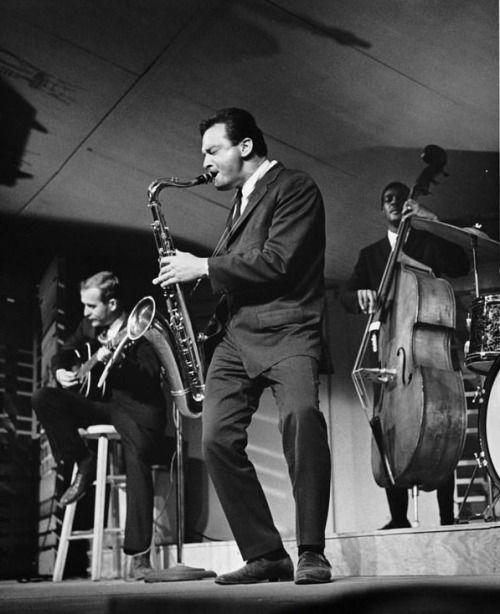 Stan Getz, Monterey Jazz Festival, 1962. [Pinned 27-ix-2015]