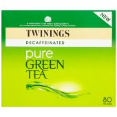 Decaffeinated Pure Green Tea - 80 Teabags