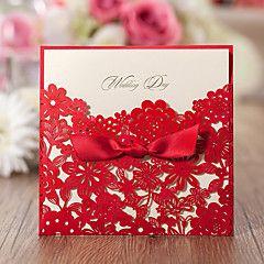 Format Enveloppe & Poche Invitations de mariage Cartes Rappel d'Invitation de Mariage Enveloppe Autocollant d'enveloppe Programme Fan – EUR € 123.69