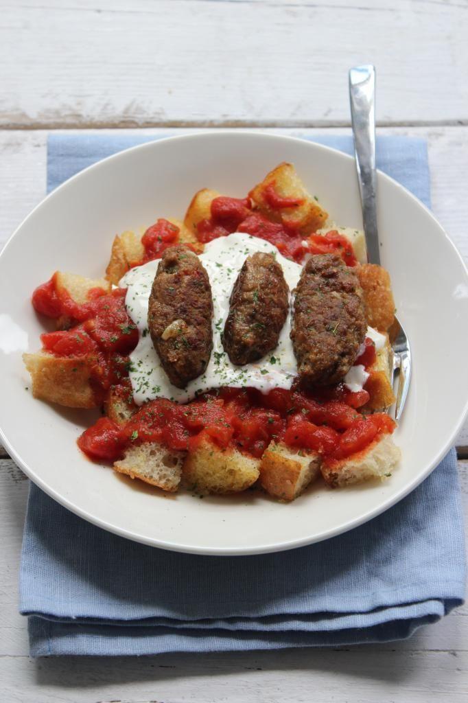 Dit heerlijke recept staat nu op de website: Yogurtlu kebab!