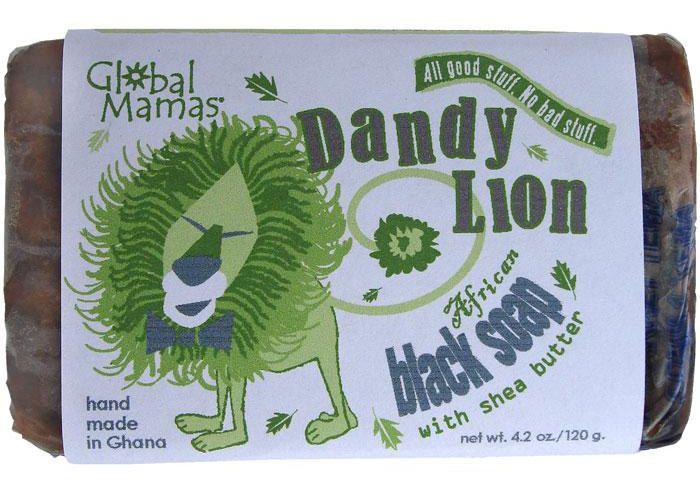 Tradisjonell afrikansk sort såpe
