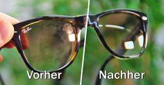 Nie wieder Brille putzen: Mit einem Trick sparen Sie bares Geld und Zeit - Video