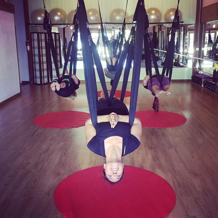 Don't miss another amazing Aerial Yoga Play class tonight at 6pm with @aerial_amy_maui #bodybalancemaui #aerial #aerialyoga #betterupsidedown