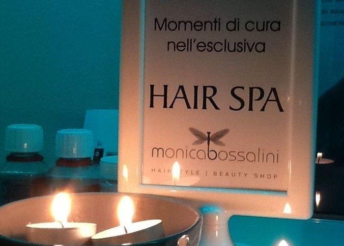 Hair spa centro benessere per i capelli