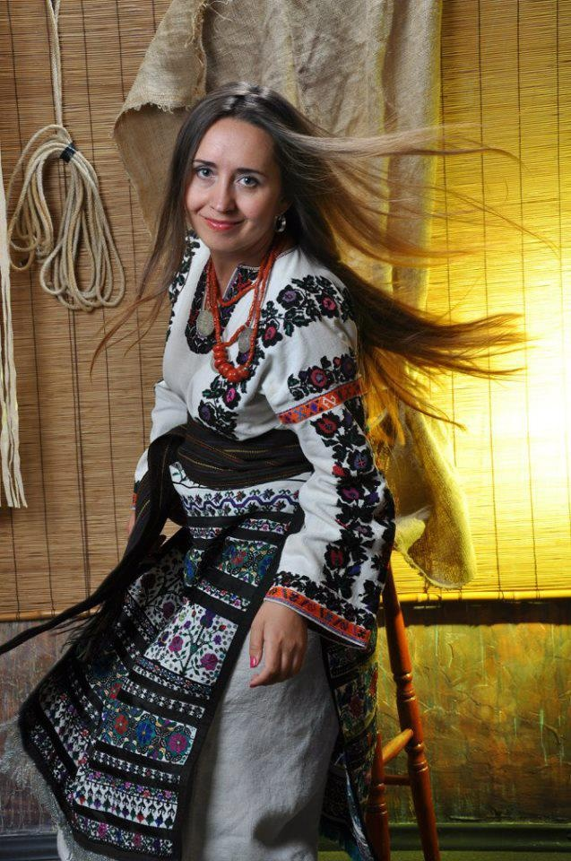 Beautiful Ukrainian outfit from Iryna with love