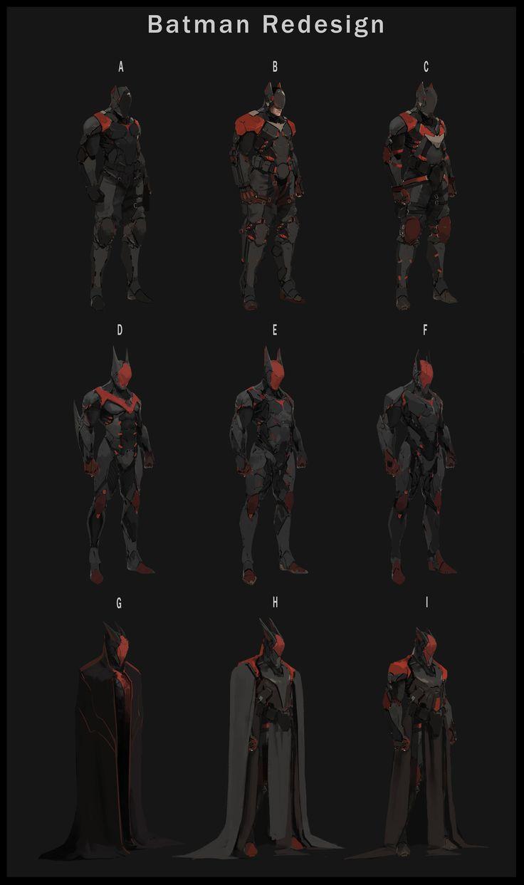 ArtStation - Batman Redesign , Tyler Ryan                              …