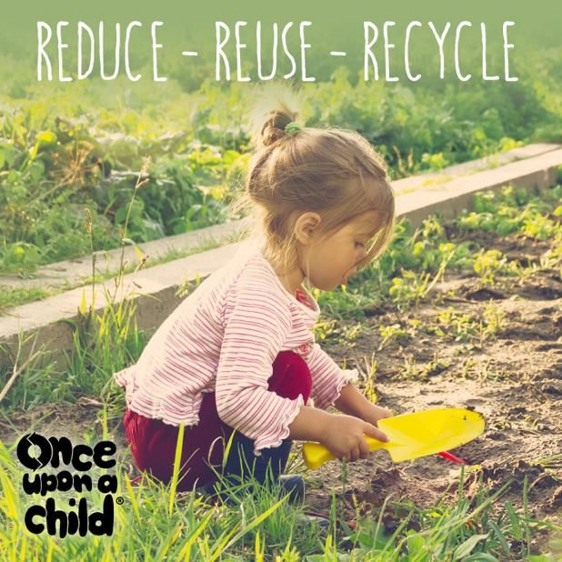 BRING YOUR OUR OWN BAG SALE! EARTH DAY SATURDAY APRIL 22ND  THE RULES: 1. Bring in your reusable bag, ANY size.  2. Fill it with as many clothing & shoes as you can fit.  3.Check out and receive 15% OFF those items. OR get 25% OFF if you bring in or buy our Once Upon a Child reusable tote bag! PLUS: *Triple Stamps! *Temporary tattoos! *Get a Coupon good for next month!  See store for details and exclusions. Only at the LARGO & SOUTH TAMPA locations