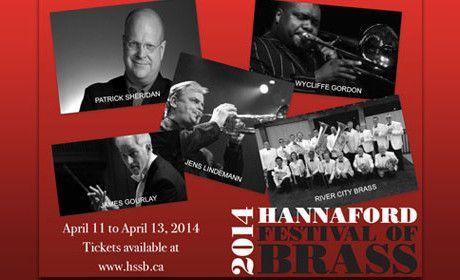 Festival of Brass April 11-13 Jane Mallet Theatre