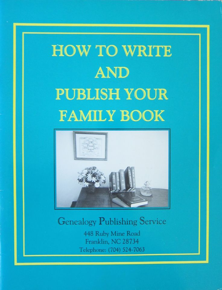 write your family history book with rootsmagic and the narrative