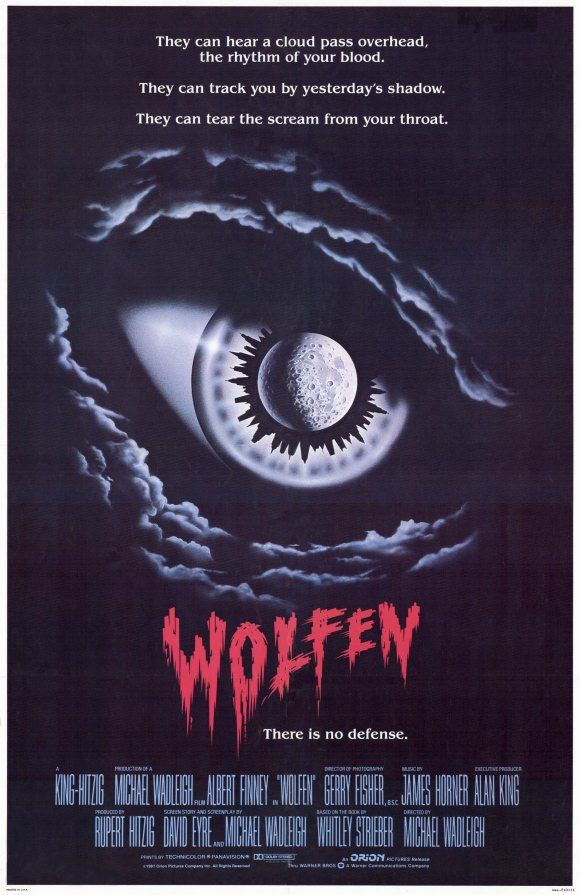 Wolfen , starring Albert Finney, Diane Venora, Edward James Olmos, Gregory Hines. A New York cop investigates a series of brutal deaths that resemble animal attacks. #Horror #Thriller