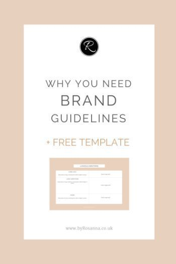 Why your business needs Brand Guidelines (+ FREE template; no signup required)
