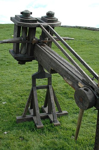 The Ballista | SPQR: The ancient Roman empire | Pinterest
