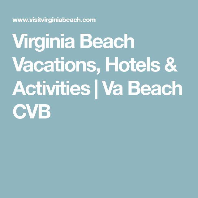 Virginia Beach Vacations, Hotels & Activities | Va Beach CVB