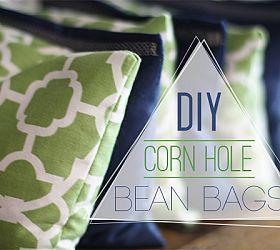 DIY Corn Hole Bean Bags