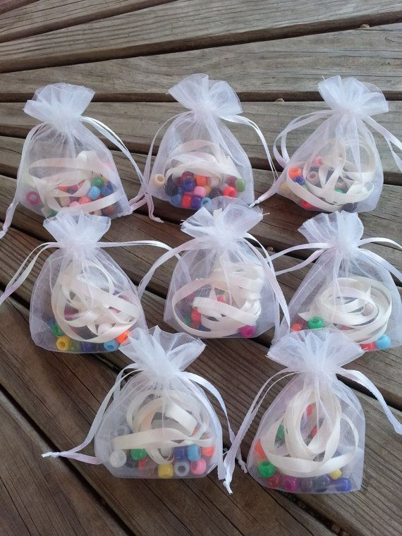Sleep over party necklace kit. 8 bags a fun. by LittleJingles, $20.00