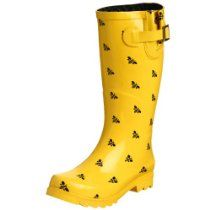 Bee boots...could use these when going into the chicken lot on a mucky day!