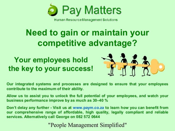 Need to gain or maintain your competitive advantage?
