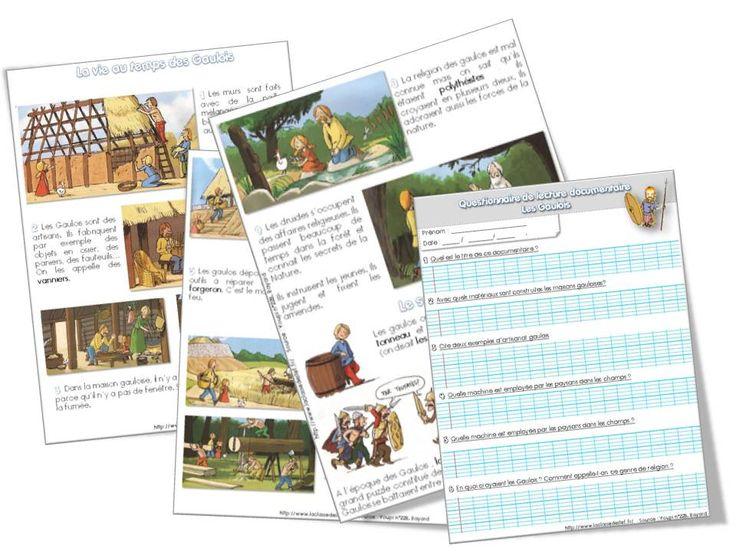 l'Antiquité - la classe de stefany - tout en pdf :) aussi Moyen-âge, grandes découvertes... fiches de prép, doc, questionnaire...