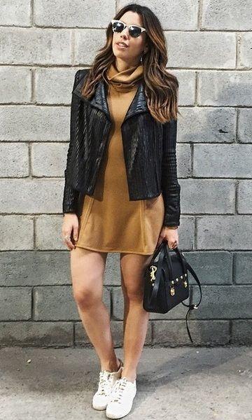 Look: Camila Coutinho - Vestido + Tênis