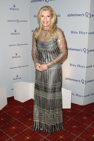 Assiut Inspired sequin dress worn by Princess Yasmin Aga Khan, daughter of Rita Hayworth.  2008 Alzheimer's Association Rita Hayworth Gala