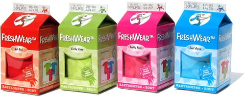 FreshWear Body Red, Lime, Pink, Blue