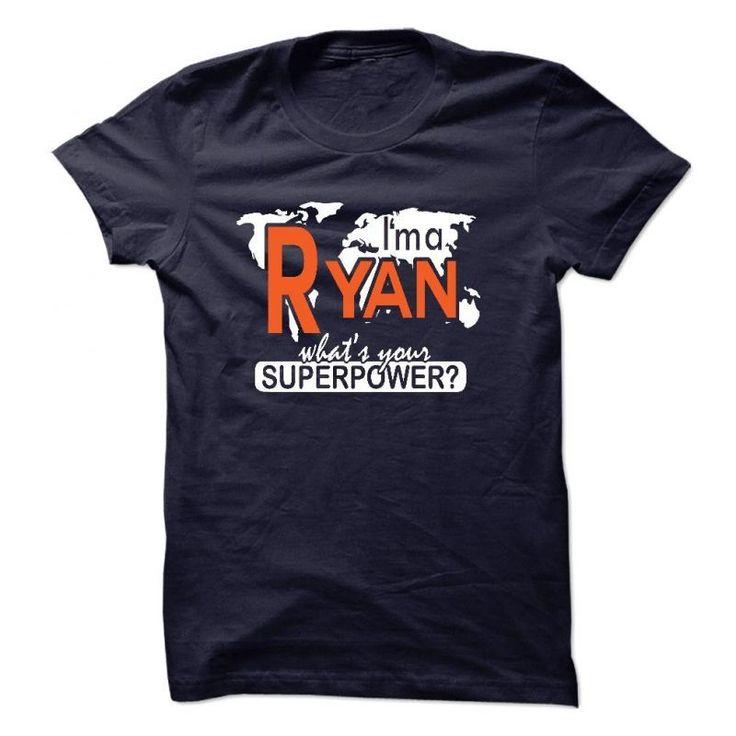 Im A Ryan Whats Your Superpower? Ryan Hurst T Shirt #i #love #