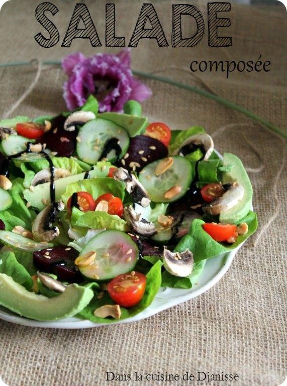 Salade composée du Printemps {recette végétalienne}
