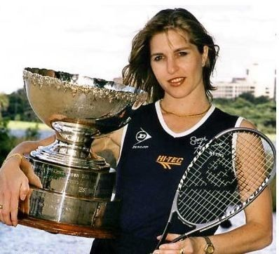Sarah Fitz-Gerald inducted into the Squash Australia Hall in 2012
