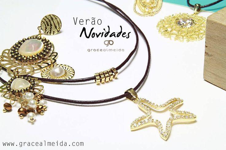 Confira as novidades da loja virtual, para você esbanjar charme no verão! --> www.gracealmeida.com