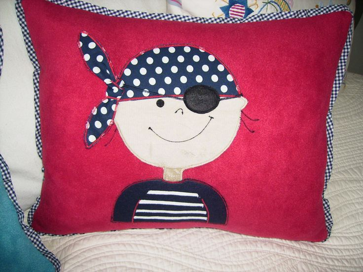 Dibujo de niño pirata.