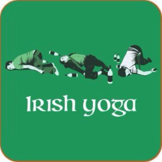 funny irish sayings | Irish Yoga Irish Joke for St. Patrick's day