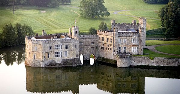 The Loveliest Castle in the World - Days out in Kent - Things to do include falconry displays, events, maze, gardens, children