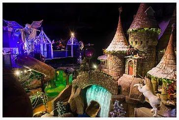 Wizard Quest is the leading attraction in Wisconsin Dells. The setting is a 13000 square foot fantasy, themed labrynth.