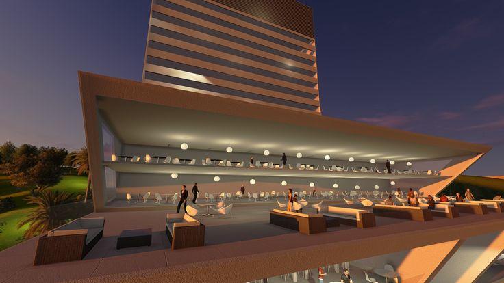 Hotel Boumerdes, Algeria by DNA Barcelona Architects